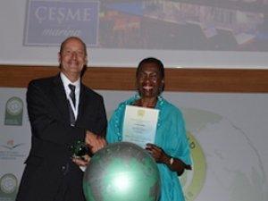 """IC Çeşme Marina """"Yeşil Dünya 2018 Ödülü""""nü kazandı"""