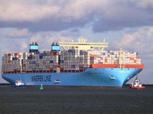 Maersk'in konteyner gemisi küresel dengeleri değiştirecek