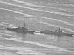 Çin ile ABD gemilerinin çatışmasına ramak kaldı