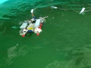 Su altı drone'u ürettiler, Teknofest'te birinci oldular