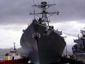 ABD savaş gemisi, Aşdod Limanı'na demirledi