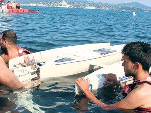 Uçan tekne sergiye çıkıyor