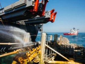 Türk Akımı'nın deniz kısmının yüzde 85'i hazır