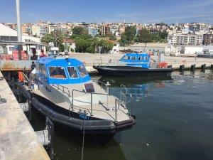 Gözüyılmaz Mühendislik'in imal ettiği Polis Devriye Botları denize indirildi