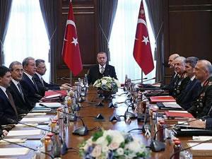 Savunma Sanayi İcra Komitesi Toplantısı, Beştepe'de yapıldı