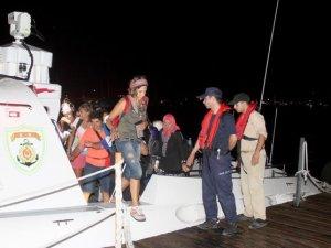 Doğa tutkunlarını Sahil Güvenlik kurtardı