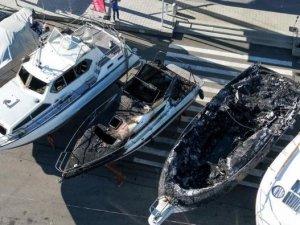 Almanya Kressbronn'da yat limanındaki yangının faturası ağır oldu