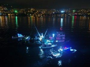 İstanbul'daki 'balık' denetimi film sahnelerini aratmadı