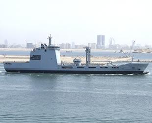 STM tarafından geliştirilen denizde ikmal gemisi Pakistan'a teslim edildi