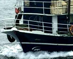 Çanakkale'de trol teknelerine drone ile operasyon