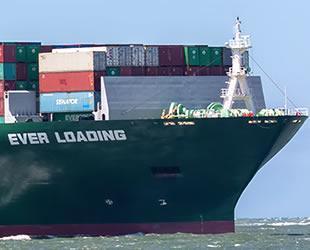 'Ever Loading' adlı gemi Çanakkale Boğazı'nda arızalandı