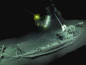 Karadeniz'de bugüne kadar dünyanın en iyi korunmuş gemi enkazı bulundu
