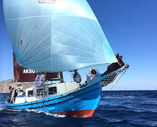 The Bodrum Cup'ta yelkenler Gümüşlük için rüzgârla doluyor