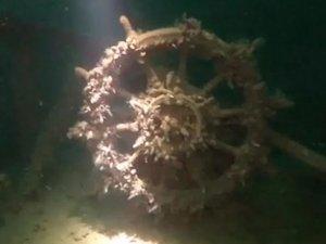 Sinop'ta batık gemi bulundu