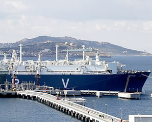 Doğalgaz ithalatı Ağustos'ta yüzde 24,4 azaldı