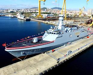 TCG Burgazada, Deniz Kuvvetleri'ne teslim edildi