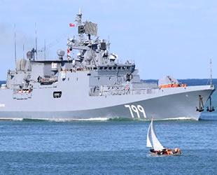 Rusya Donanması'na ait 'Amiral Makarov' fırkateyni Akdeniz'e gitti