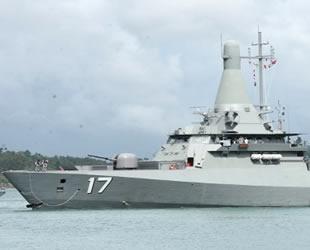 Singapur ve Hindistan donanmalarından ortak tatbikat