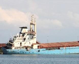 Samsun'da karaya oturan kuru yük gemisi, söküme gönderilecek