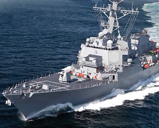 ABD Donanması'na katılacak USS Patrick Gallagher savaş gemisinin inşası başladı