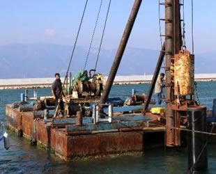 Burhaniye Yat Limanı'nda çalışmalar hız kazandı