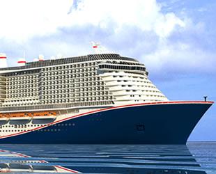Carnival Cruise, en büyük gemisinin inşasına başladı