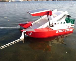 Balıkesir'de robotik deniz yüzeyi temizleme aracı üretildi