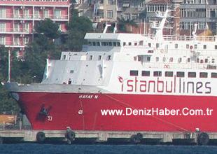 HAYAT-N Bandırma Limanı'nda battı