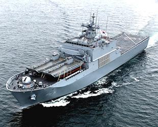 LTS-2 tank çıkarma gemisi, Kore Donanması'nda göreve başladı
