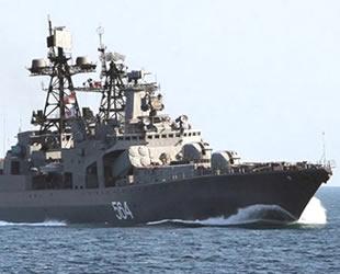 12 ülkeden 60 savaş gemisi Akdeniz'e demirledi
