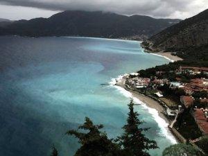 Fethiye'de deniz rengiyle büyüledi