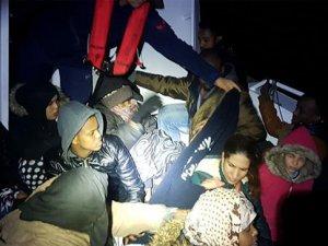 Sahil Güvenlik, 262 düzensiz göçmen yakaladı