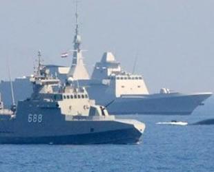 Mısır ve Fransa, Kızıldeniz'de ortak deniz tatbikatı yaptı