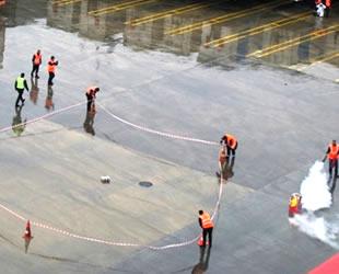 Yalova'da Uluslararası Ro-Ro Terminali'ndeki 'bomba' tatbikatı gerçeği aratmadı