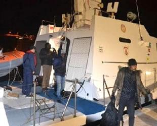 İzmir'de 163 kaçak göçmen yakalandı