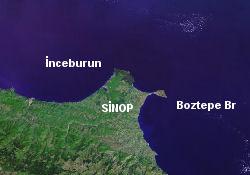 Sinop açıklarında gemi battı