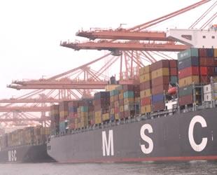 20 limanda konteyner takip sistemi var