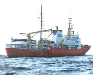 Aquarius gemisi, arama kurtarma faaliyetlerini sonlandırdı