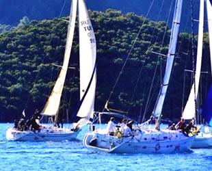Marmaris'te yelkenli yat yarışları başladı