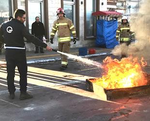 GESTAŞ Çanakkale İskelesi'nde yangın tatbikatı gerçekleştirildi