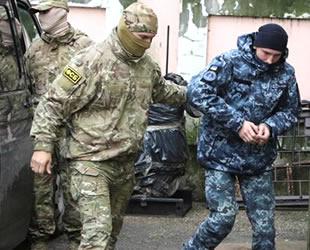 Rusya, Ukraynalı denizcilerin serbest bırakılması talebini reddetti