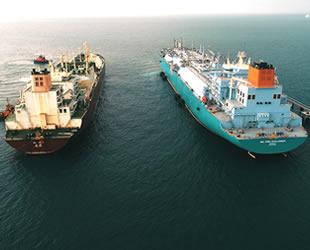 Hatay'da dünyanın en büyük LNG aktarım operasyonu tamamlandı