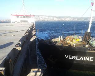 Sinop'ta 'Muhammed Gümüştaş-5' ve 'Verlaine' isimli gemiler çatıştı