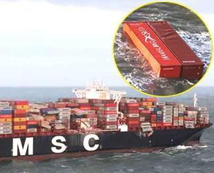 Hollanda'da kayıp konteynerler için kimyasal alarmı verildi