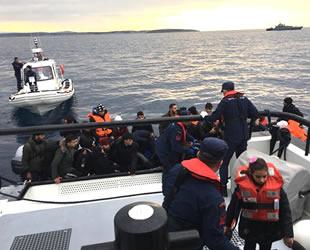 1 haftada denizlerde 497 göçmen yakalandı