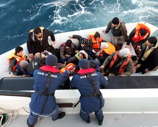 2018 yılında Ege'de 25 bin düzensiz göçmen kurtarıldı