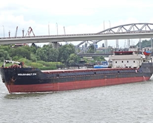 Samsun'da batan Volga-Balt 214 isimli kargo gemisiyle ilgili soruşturma başlatıldı