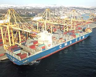 'Uruguay' isimli gemi, Asyaport'a yanaştı