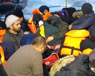 2018'de Ege'de 25 bin düzensiz göçmen kurtarıldı