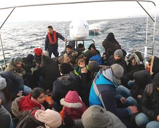 Didim'de 45 düzensiz göçmen ve 3 organizatör yakalandı